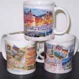 Производство на Чаши с Изгледи на забележителности от България