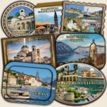 Montenegro: Magnetic and Tourist Souvenirs